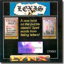Box image for Lexis on the Atari <code />Lynx
